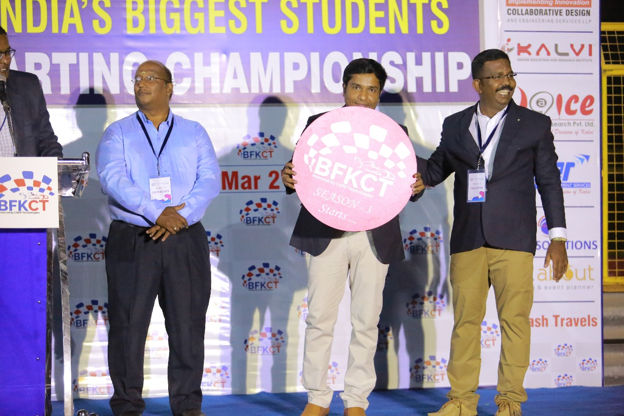 India's biggest students' Karting Championship powered by our CADD Technologies