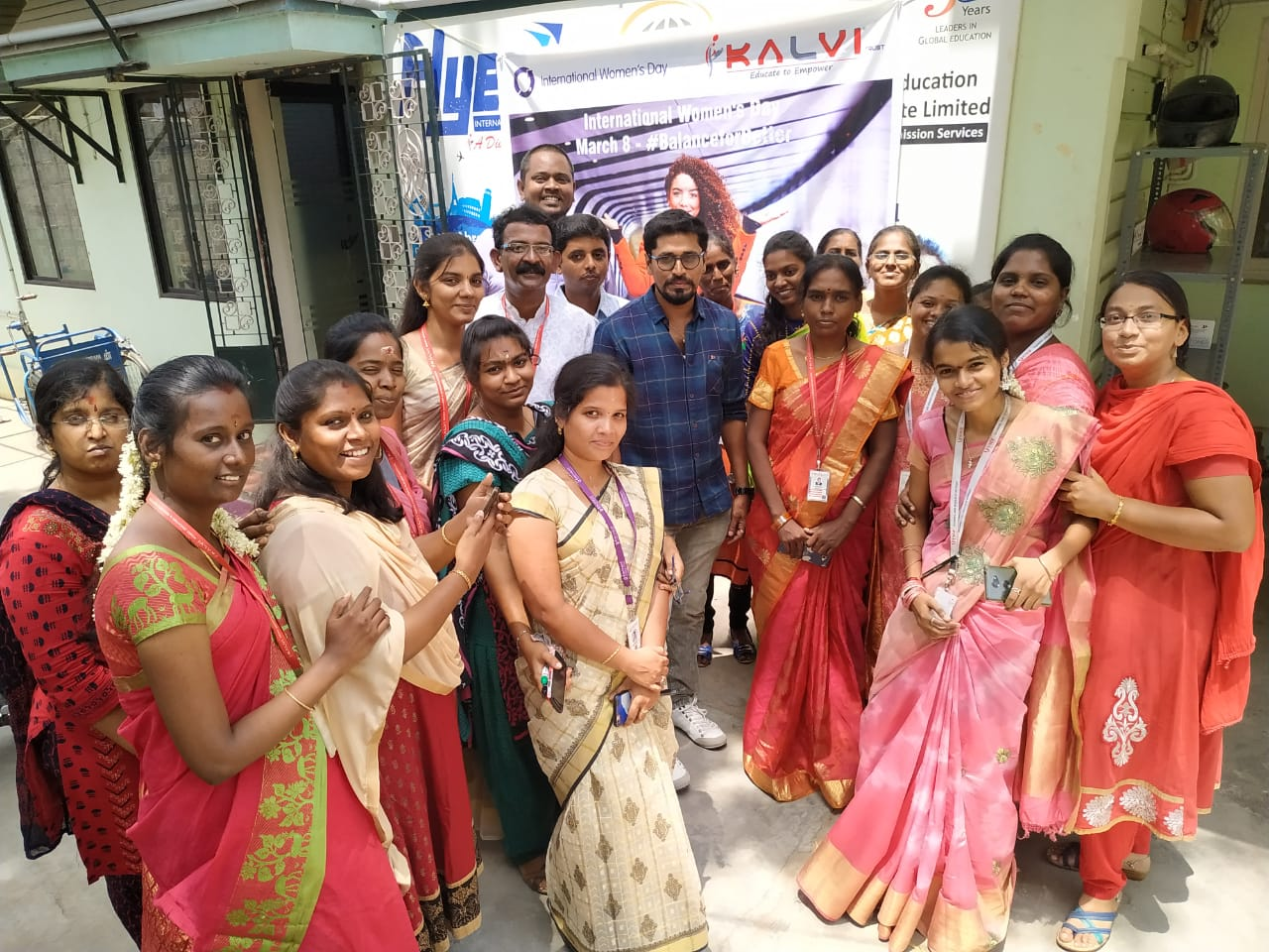 The Celebration of International Women's Day for KALVI Trust